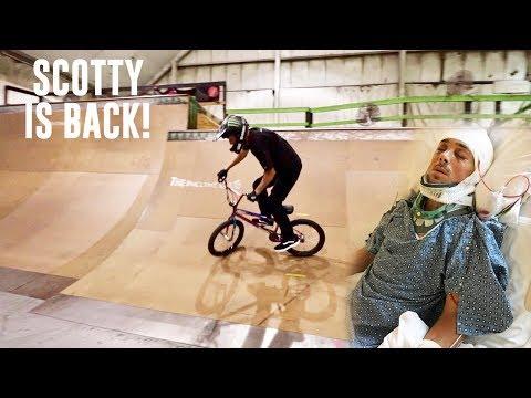 Paralyzed to BMX bike riding in 10 months