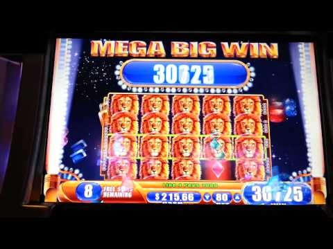 King of Africa Mega Big Win WMS Slot Machine