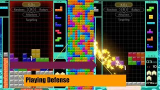 TETRIS 99: DEFENDING AGAINST ATTACKS