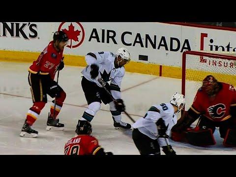 Video: Watch Evander Kane's four goals against Flames