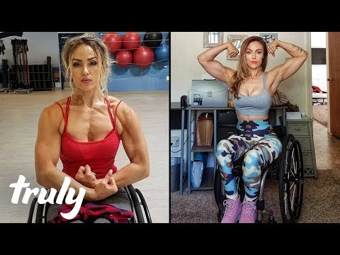 Paralysed Car Crash Survivor Becomes Fitness Model  TRULY