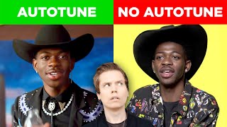 Video Comparing Singers With & Without Autotune (Lil Nas X, John Legend & MORE) MP3, 3GP, MP4, WEBM, AVI, FLV Agustus 2019