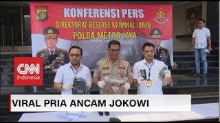 Download Video HS, Pria Pengancam Jokowi Terancam Hukuman Maksimal Seumur Hidup (FULL) MP3 3GP MP4