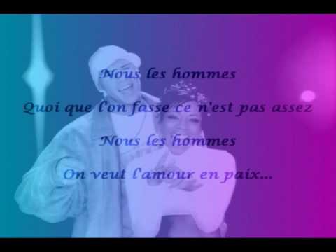 Lynnsha -  Hommes Femmes feat. D.Dy.  (paroles) (видео)
