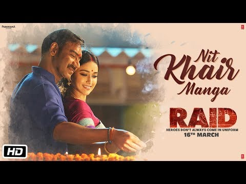 Nit Khair Manga Video | RAID | Ajay Devgn | Ileana