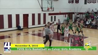TVHS Girls Basketball vs. Culver Academy