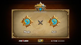 Mage vs Ant, game 1