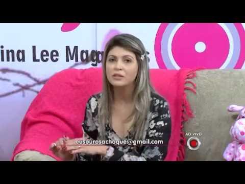 Isis Queiróz  Programa Rosa Choque apresentação Nina Lee Magalhães