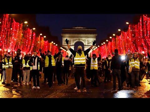 Κίτρινα Γιλέκα: Εισαγγελική έρευνα για βία κατά αστυνομικών…