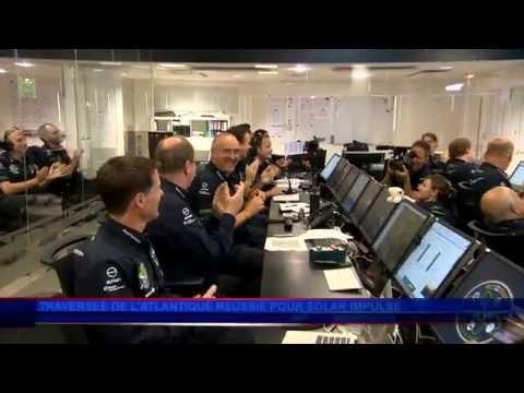 La Traversée de l'Atlantique : Une nouvelle prouesse pour Solar Impulse 2