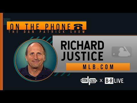 MLB.com's Richard Justice Talks Astros Cheating Punishment w/ Dan Patrick | Full Interview | 1/14/20