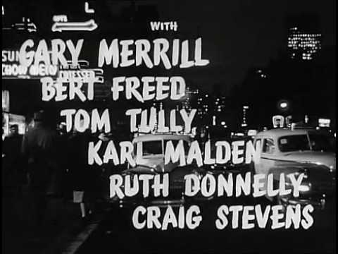 Where the Sidewalk Ends 1950 opening credits