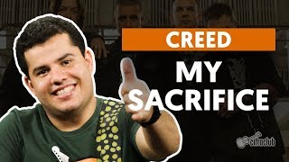 MY SACRIFICE - Creed (aula de guitarra)