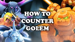 Clash Royale   How to Counter Golem