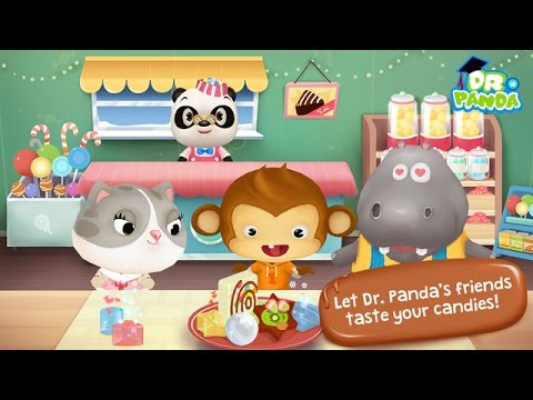Dr. Panda CANDY Factory – Best kids app iOS Android iPad