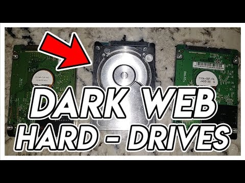 DARK-WEB HARD DRIVES
