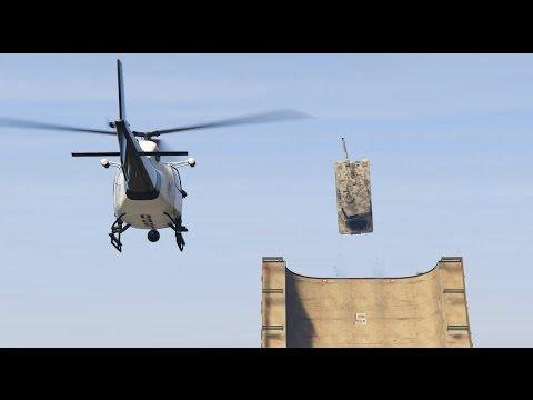 GTAV tank stunt