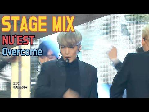 [60FPS] NU'EST - Overcome 교차편집(Stage Mix) @Show Music Core (видео)