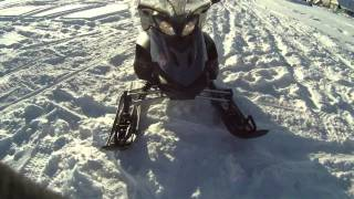 6. SnowMobile Yamaha RS Venture TF test drive �негоход те�т драйв