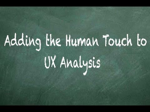 Adding the Human Touch to UX Analysis - Testimonial for NJ Web Design company