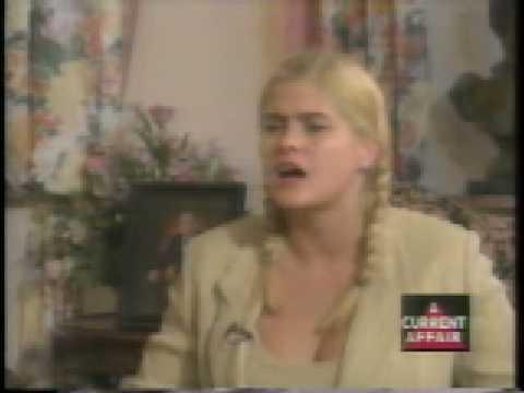 Anna Nicole Smith interview A Current Affair 1995 part 1