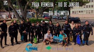 MEIO AMBIENTE: Mergulho de limpeza na Praia Vermelha - Dia 18/09/16
