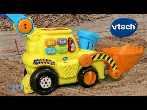 Pop a Balls Push & Pop Bulldozer from VTech