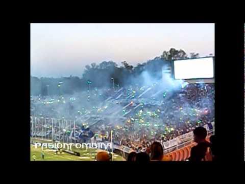 Godoy Cruz vs Universidad de chile Copa Libertadores 2012 - hinchada - La Banda del Expreso - Godoy Cruz