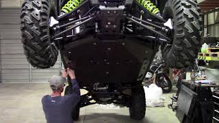 6. Polaris RZR 900 4 seater UHMW No drilling!