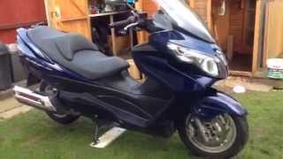 9. Suzuki burgman 400 k7 review mark savage