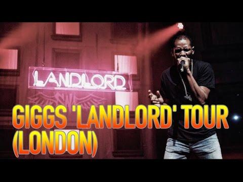 GIGGS LANDLORD TOUR IN LONDON @DJDUBL @officialgiggs