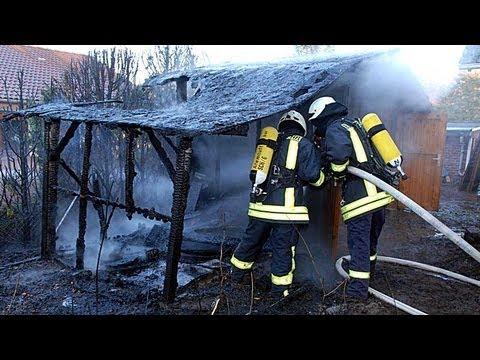 Bad Arolsen: Gartenhütte und Hecke abgebrannt