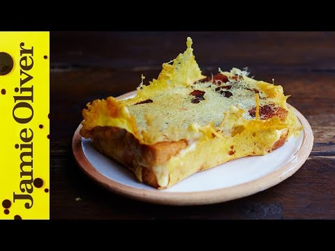 Ultimate Grilled Cheese Sandwich | Jamie Oliver | Jamie's Comfort Food