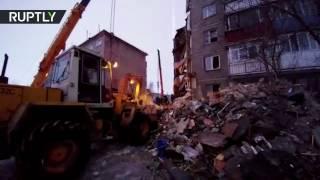9 человек погибли при обрушении многоэтажного дома в Казахстане