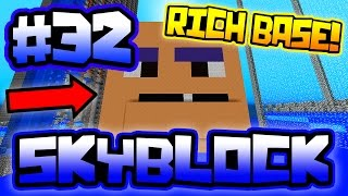 REVEALING RUMBLE'S RICH BASE!! | Server SkyBlock in Minecraft #32