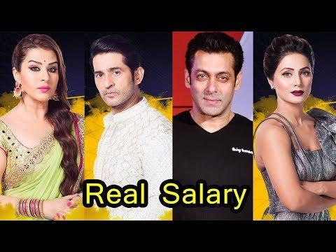 Real Salary of Big Boss 11 Contestants and Salman Khan | Per Week Salary