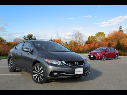 2013 Honda Civic vs. 2014 Toyota Corolla