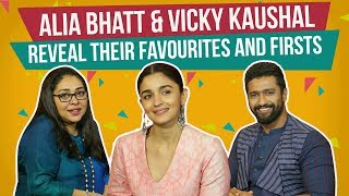 Video Alia Bhatt & Vicky Kaushal reveal their favourites and firsts | Raazi | Pinkvilla MP3, 3GP, MP4, WEBM, AVI, FLV Juni 2018