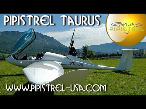 Sailplanes - http://www.sportaviationmagazine.com – Pipistrel Taurus motorized sailplane. Pipistrel's Taurus, the unusual side-by-side self-launched sailplane is excellen...