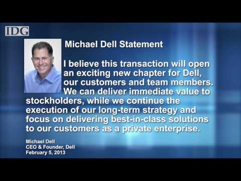 Dell goes private, bought by Michael Dell and Silver Lake