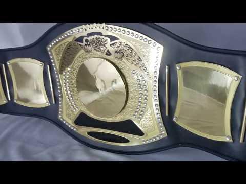 Custom Spinner Championship Title Belt