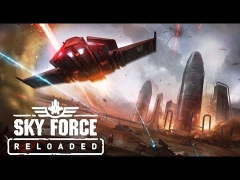 Sky Force Reloaded PC All Upgrades Normal Mode Game Play HD 1080p 60fps
