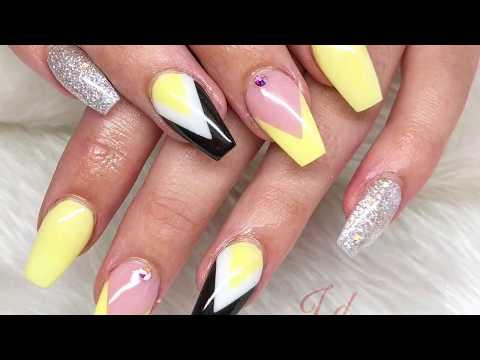 Summer vibes  Acrylic Nails