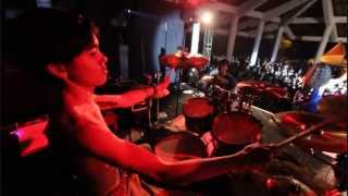 Parau - Satu Luka Seribu Dendam - Live at BMH # 3 (Utha Drum Cam)
