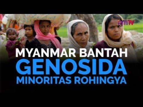 Myanmar Bantah Genosida Minoritas Rohingya