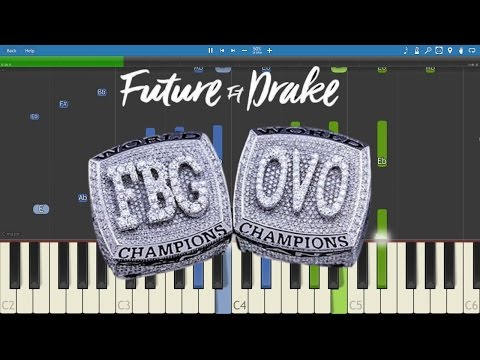 Used to this - Future - Hndrxx Piano Instrumental Cover