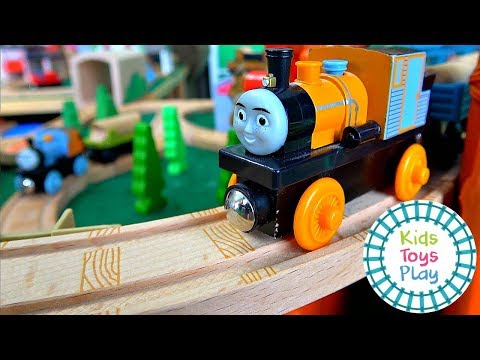 Thomas the Train Track Build | Misty Island Rescue