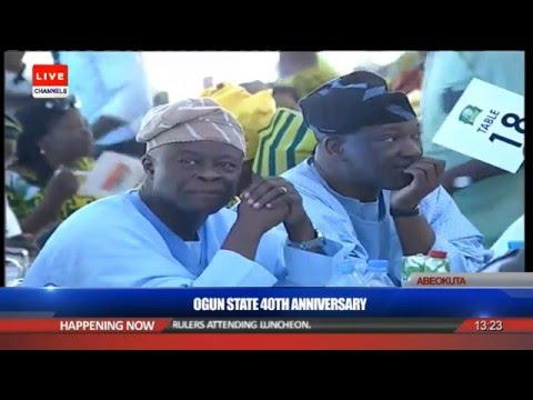 Olamide Badoo's Grand Performance At Ogun 40th Anniversary
