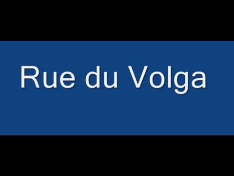 Rue du Volga Paris Arrondissement  20e