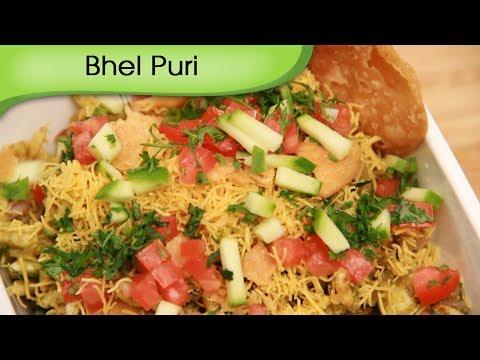 Bhel Puri – Spicy Puffed Rice Salad – Vegetarian Snack by Ruchi Bharani